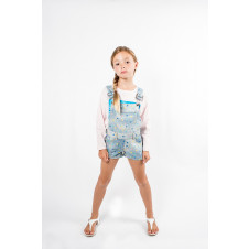 SUDO HARPER DENIM OVERALL