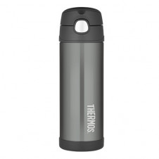 THERMOS DRINK BOTTLE FUNTAINER 455ml CHARCOAL