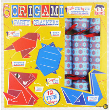 ORIGAMI PARTY CRACKERS 6 SET