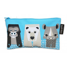 COQ EN PATE MIBO PENCIL CASE POLA BEAR