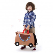 TRUNKI BRONCO HORSE RIDE ON SUITCASE
