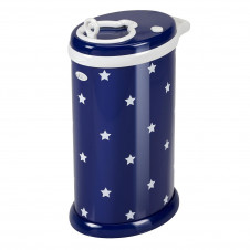 UBBI DIAPER BIN NAVY STARS LIMITED EDITION