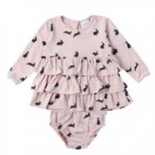 ALEX & ANT PINK RABBIT SET