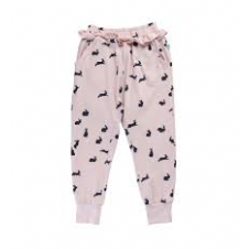 ALEX & ANT PINK LOOSE RABBIT PANT