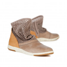 EMU NUMERALLA SAND SLIP ON LEATHER BOOTS