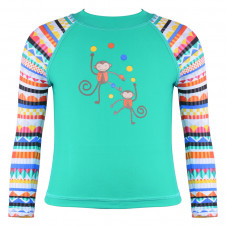 WAVE RAT LONG SLEEVE RASHIE CHEEKY MONKEY