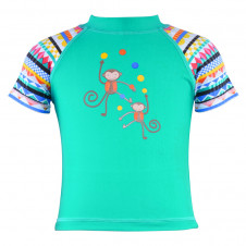 WAVE RAT SHORT SLEEVE RASHIE CHEEKY MONKEY