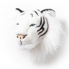 WILD AND SOFT Albert the White Tiger Head
